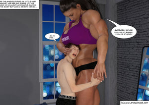 Roommates - part 2 - female bodybuilder