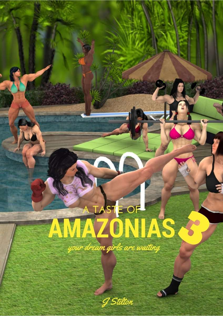 A taste of Amazonias, volume 3 (FREE) - female bodybuilder