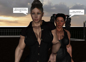 Another lesson for Mr McMillan (Amber & Julian series) COMPLETE - female bodybuilder