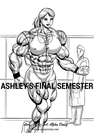 L'ultimo semestre di Ashley - bodybuilder femminile