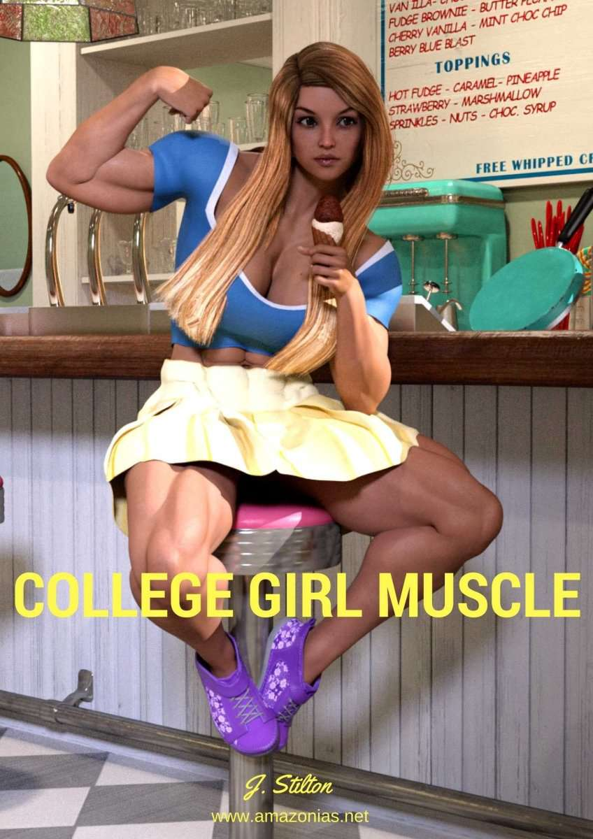 College Girl Muscle - female bodybuilder