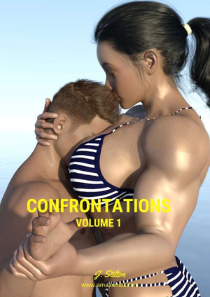 Confrontations - volume 1 - female bodybuilder