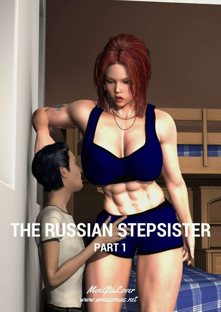 The Russian Stepsister - female bodybuilder