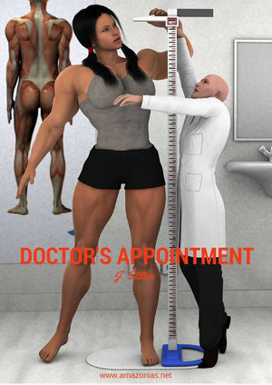 Doctor's appointment - female bodybuilder