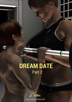 Dream date, part 2 - female bodybuilder
