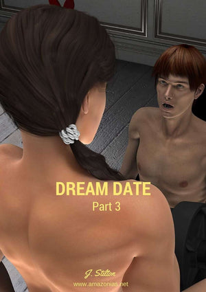 Dream date, part 3 - female bodybuilder