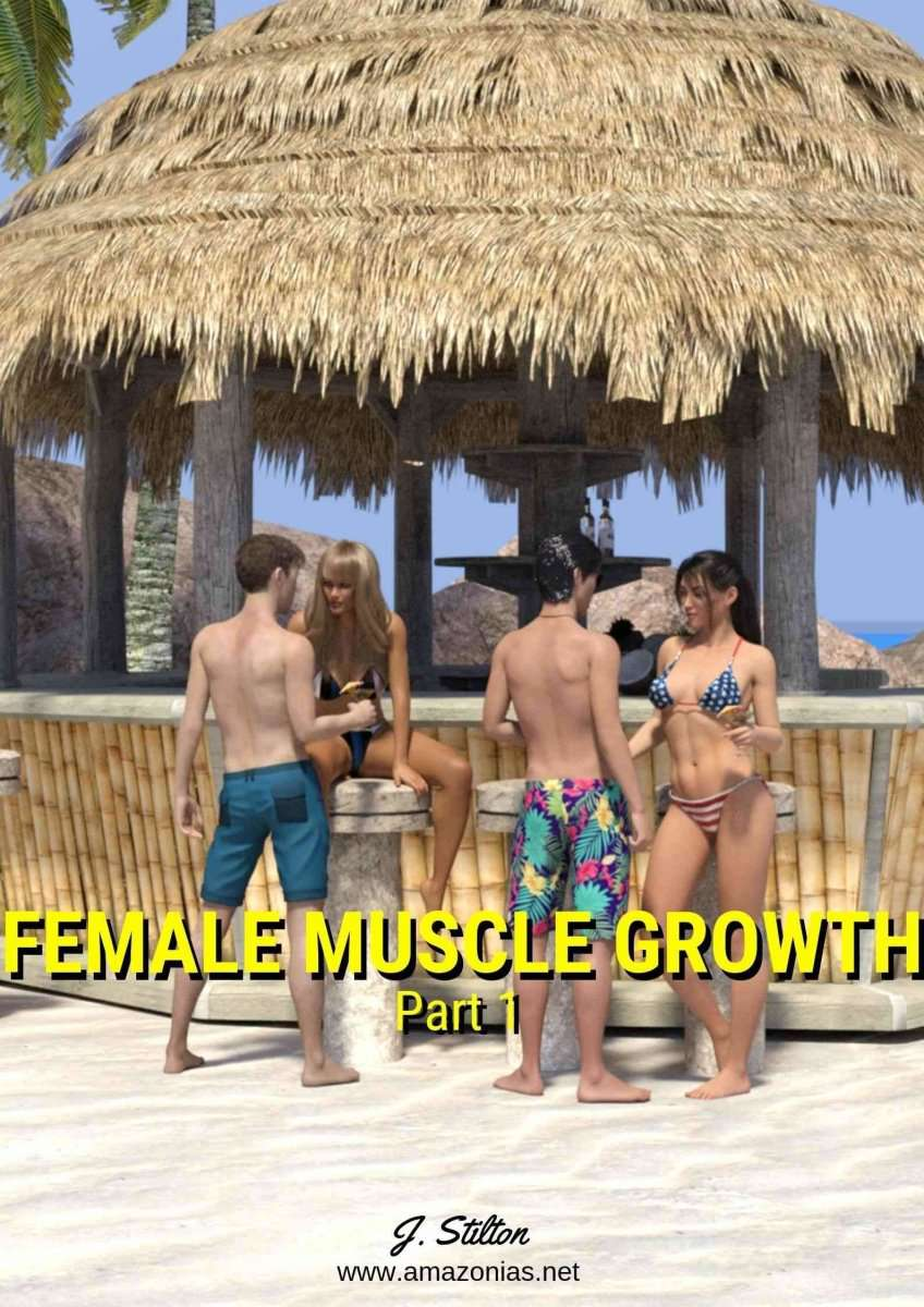 two sexy women and two guys on the beach