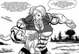 Ashley's Final Semester - part 2 - female bodybuilder