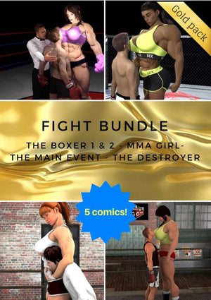 Fight bundle - female bodybuilder