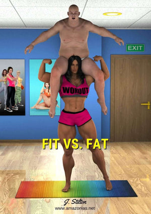 Fit versus Fat - FREE-female bodybuilder - musclegirl -Amazonias