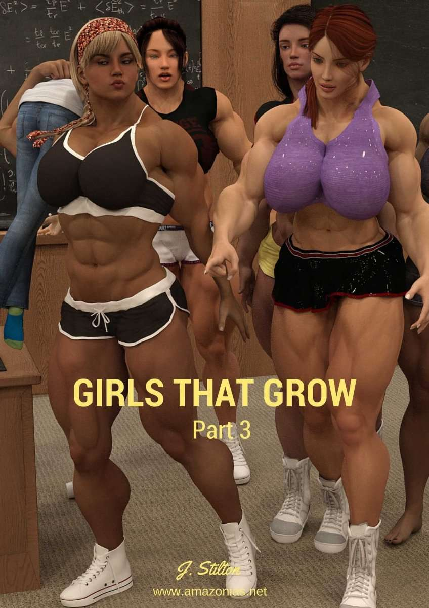 Girls that Grow - part 3 - female bodybuilder