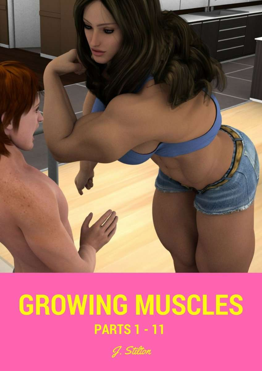 Growing Muscles COMPLETE - female bodybuilder