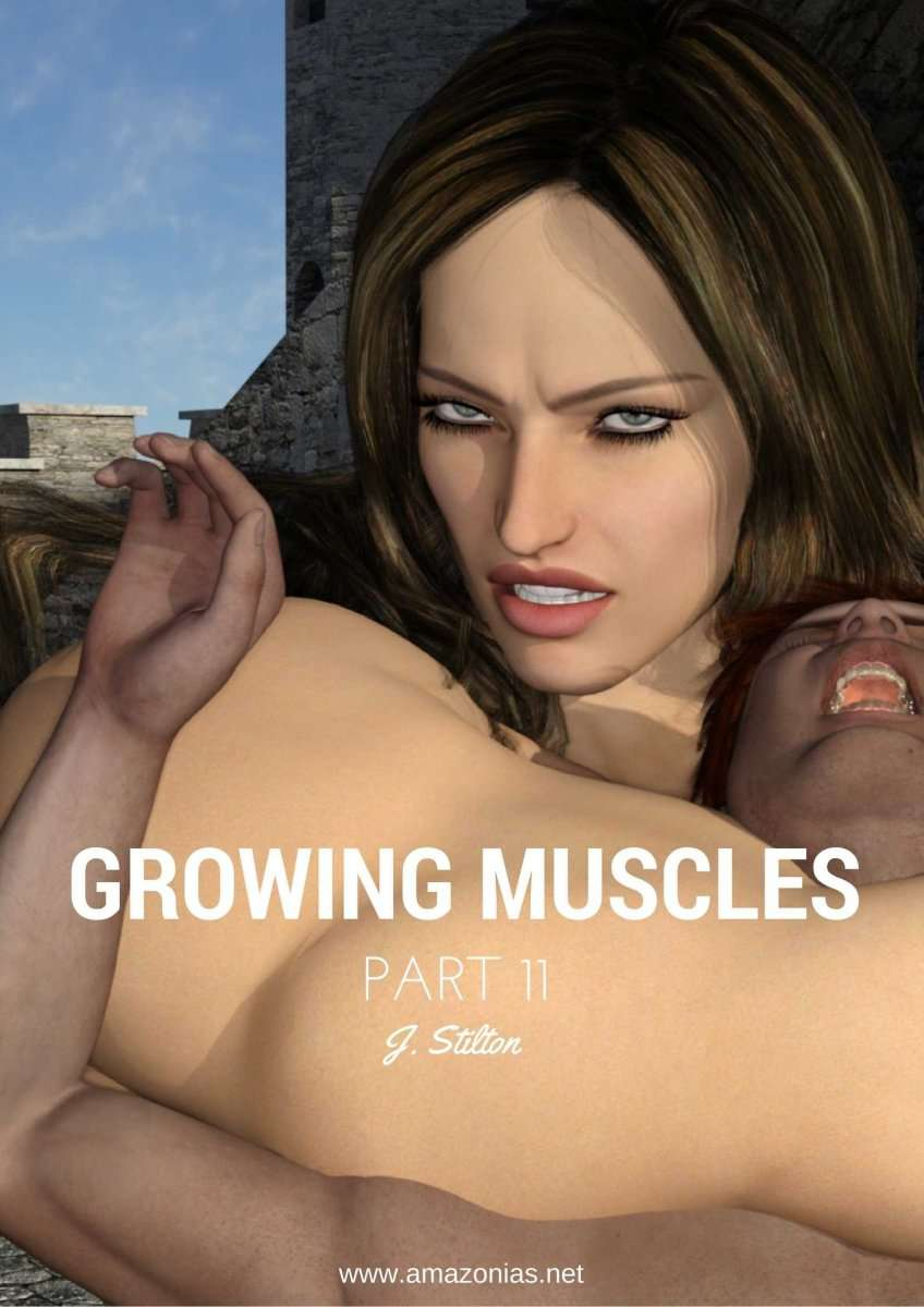 Growing Muscles - Part 11 - female bodybuilder