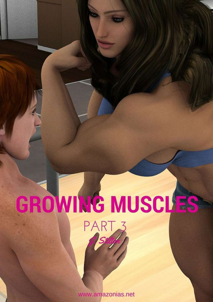 Growing Muscles - Part 3 - female bodybuilder