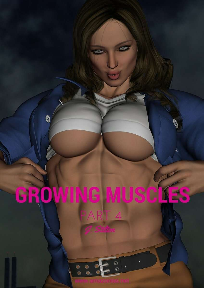 Growing Muscles - Part 4 - female bodybuilder