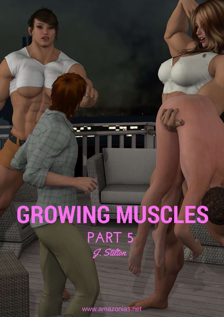 Growing Muscles - Part 5 - female bodybuilder