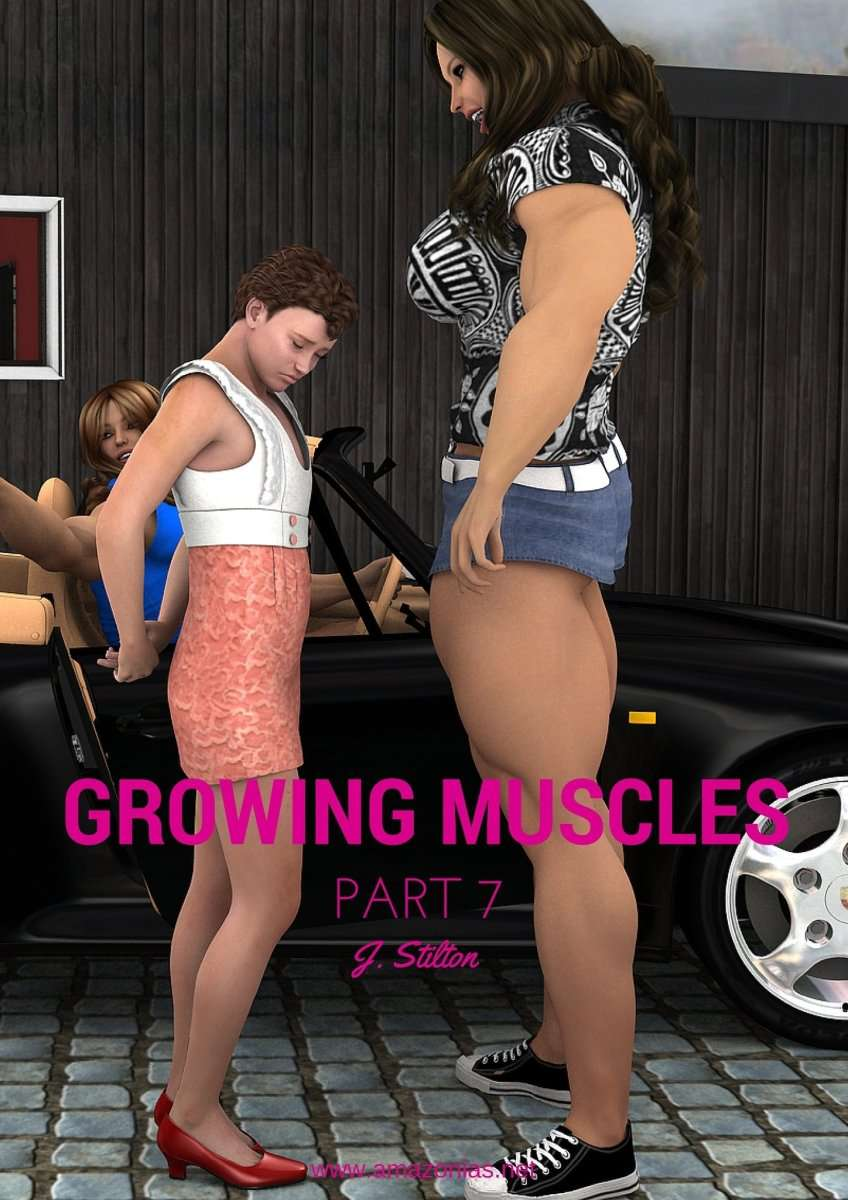 Growing Muscles - Part 7 - female bodybuilder
