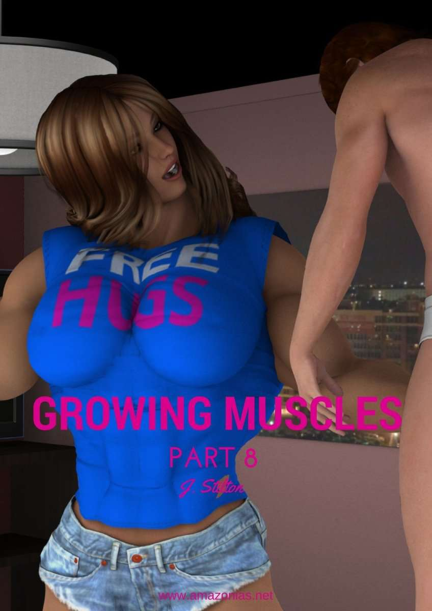 Growing Muscles - Part 8 - female bodybuilder