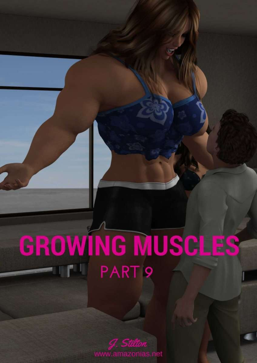 Growing Muscles - Part 9 - female bodybuilder