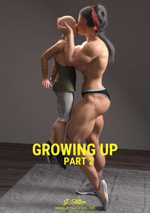 Growing up - part 2 - female bodybuilder