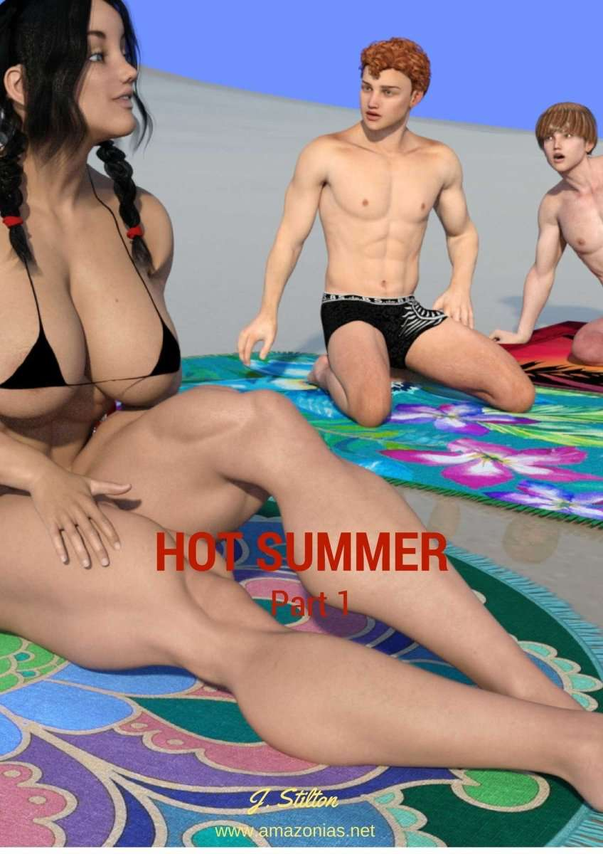 Hot Summer, chapter 1 - female bodybuilder