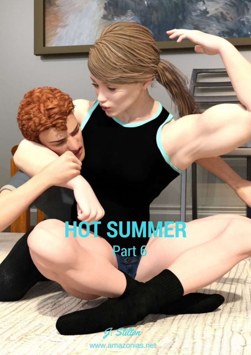 Hot Summer, chapter 6 - female bodybuilder