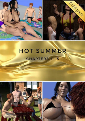 Hot Summer - chapters 1 to 5 - female bodybuilder