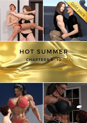Hot Summer - chapters 6 - 10-female bodybuilder - musclegirl -Amazonias