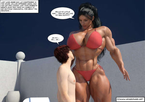 Hot Summer - Kapitel 6 - 10-Bodybuilderin - Musclegirl -Amazonias