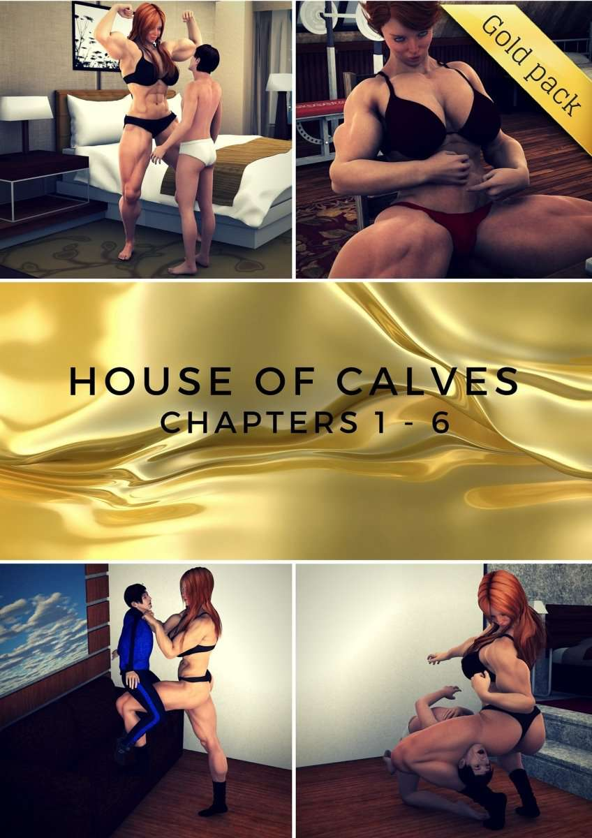 House of Calves - 1 - 6 COMPLETE - female bodybuilder