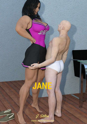 Jane - female bodybuilder