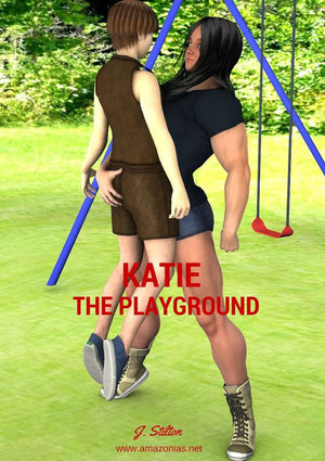 Katie: the playground - FREE - female bodybuilder