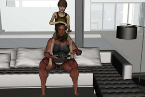 Marjorie: roleplay - FREE - female bodybuilder
