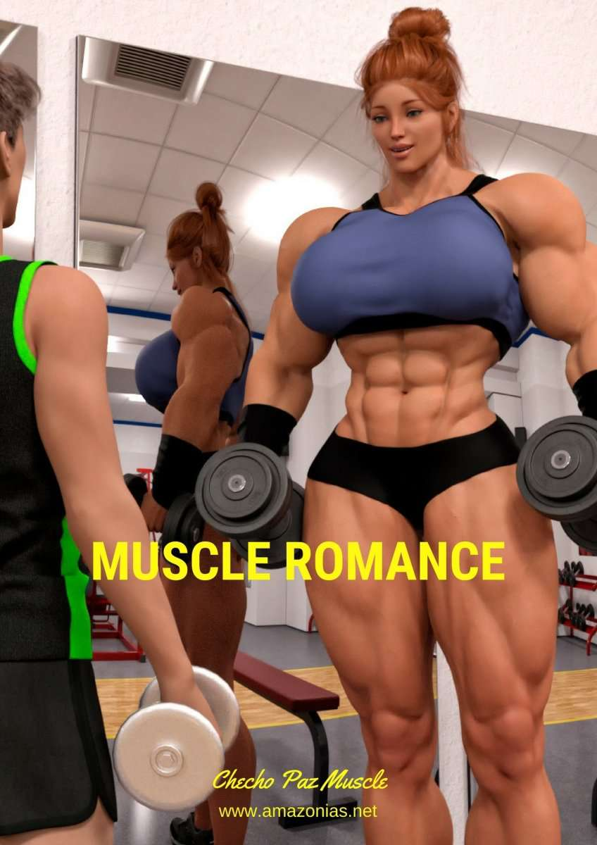 Muscle Romance - part 1 - female bodybuilder