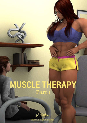 Muscle Therapy - part 1 - female bodybuilder
