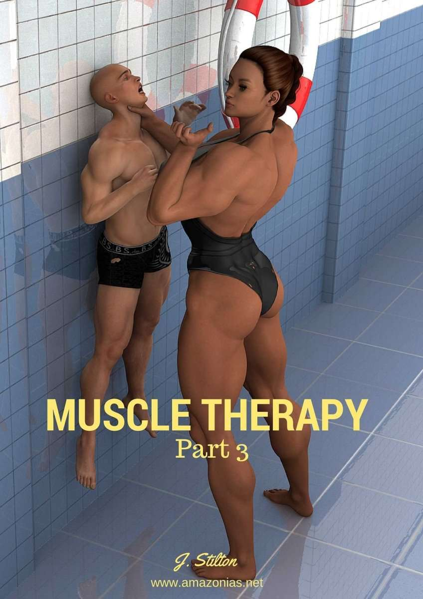 Muscle Therapy - part 3 - female bodybuilder