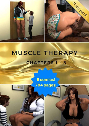 Muscle Therapy parts 1 - 8-female bodybuilder - musclegirl -Amazonias