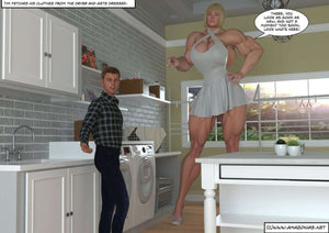 minigiantess and short guy