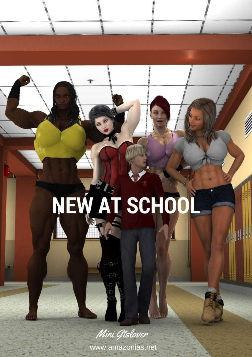 New at School - female bodybuilder