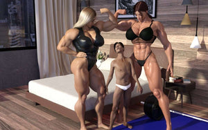 Sophie's property 5 / Muscle Therapy 11 - female bodybuilder