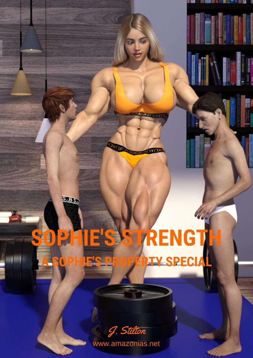 Sophie's Strength - female bodybuilder