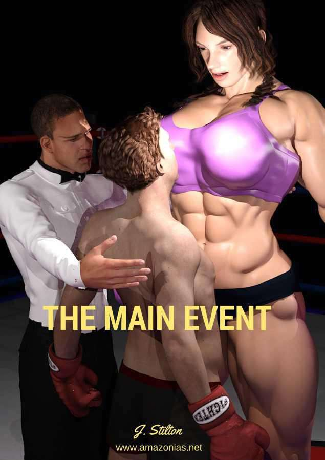 The Main Event - female bodybuilder