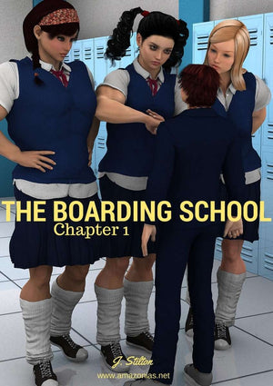 The boarding school - chapter 1 - female bodybuilder
