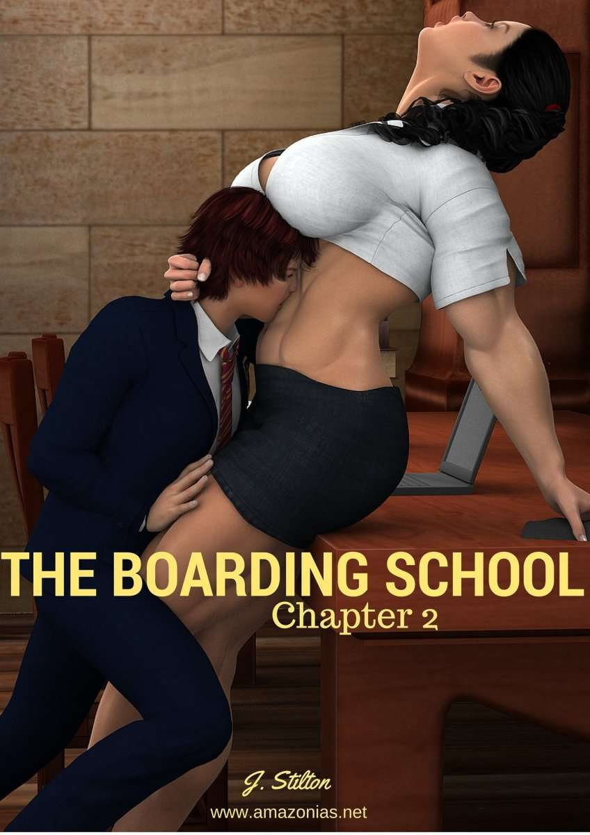 The boarding school - chapter 2 - female bodybuilder