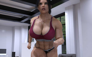 The Bully - part 2 - female bodybuilder