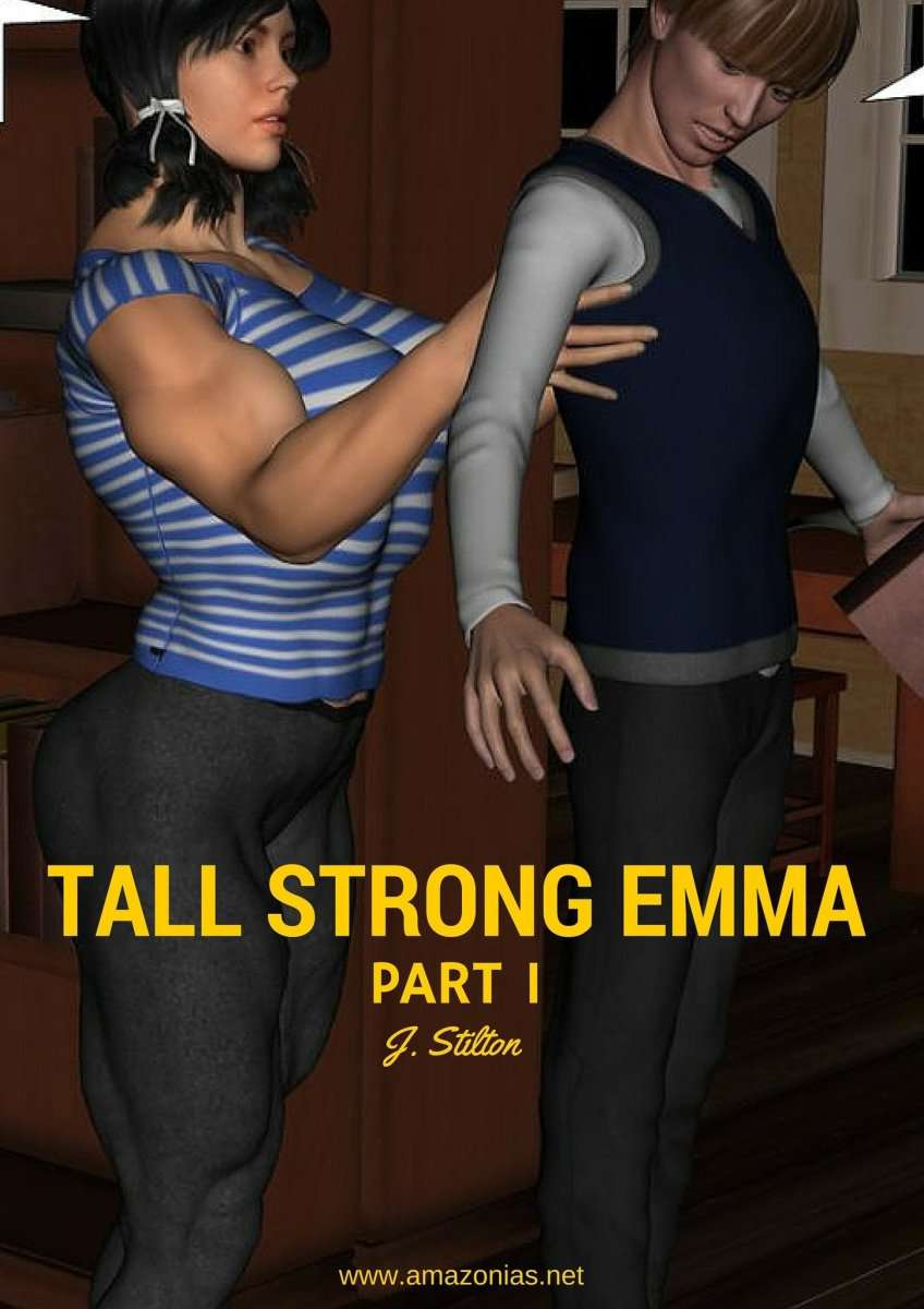 Tall strong Emma, part 1 - FREE - female bodybuilder