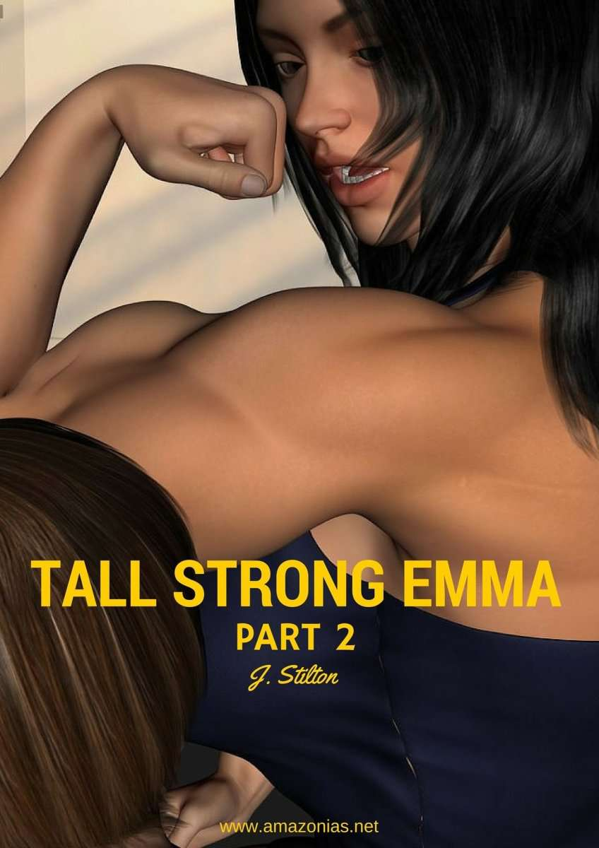 Tall strong Emma, PT 2 - female bodybuilder