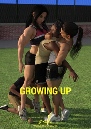 Growing up - part 1 - female bodybuilder