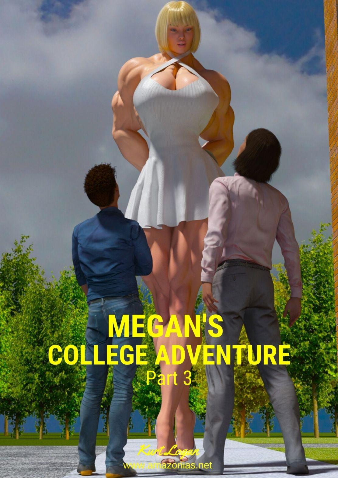 giantess and small men