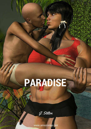 Paradise (picture set) - FREE - female bodybuilder